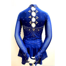 Competition Figure Skating Dress Asian Theme BSU2020.1003 Size Adult Small