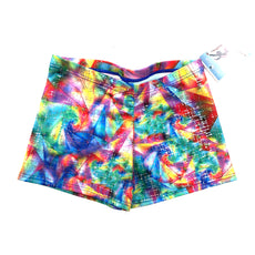 Mondor Dance Shorts Activewear Gymnastics Shorts 7825 PRISM Size Adult Small