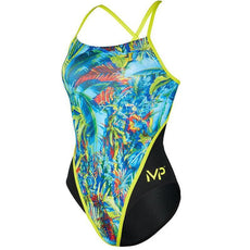 BP Mìcheal Phelps Oasis Racing Swimsuit Womens Swimwear Meud 24 gu 38