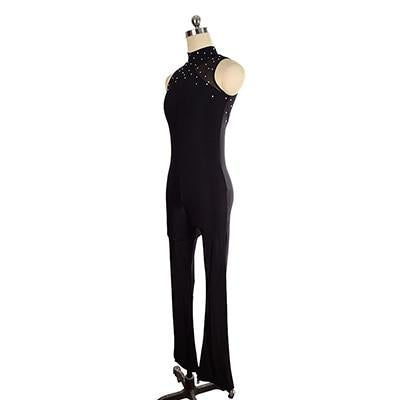Figure Skating Catsuit Unitard with Stirrups Available in Many Colors SU54789HJ