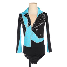 Figure Skating Shirt Top Leo for Boys & Mens Black and other Color