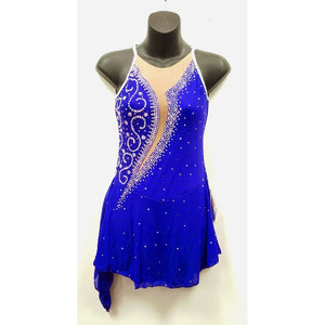Figure Skating Dress - 100's Preciosa Tchech Crystals (SU150)