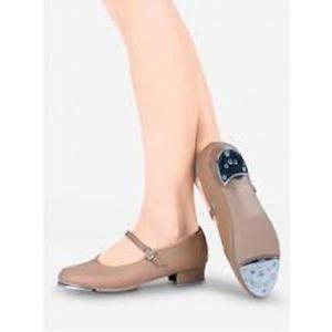 New So Danca Tap Shoes TA07 Buckles Adult Size Beginners Caramel Colour