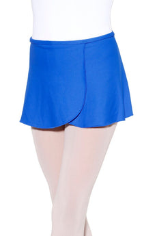 Mar sin Danca Dance Wrap Skirt Royal Microfiber Youth Meudan