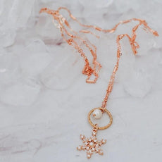 Skate Charms Necklace with Pearls Figure Skating Jewelry Gold Tone