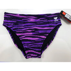 Maillot de bain garçon Tyr Racing Brief Purple Youth Taille 14/28