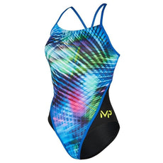 MP Michael Phelps Florida Racing Swimsuit Womens Swimwear Size 24 to 38
