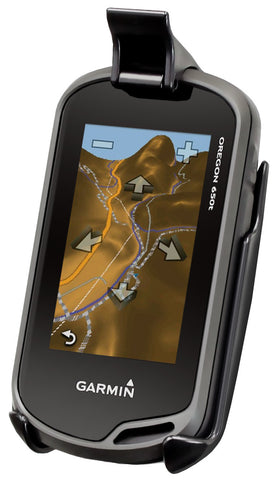 Cradle for the Garmin Approach G5, Oregon 200, 300, 400, 450, 550, 600 & 650