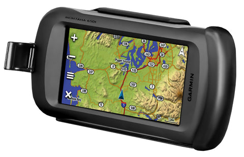 Cradle for the Garmin Montana 600, 650 & 650t
