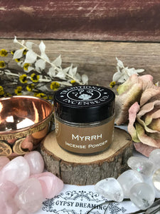 Traditional Incense Co - Myrrh -  incense powder