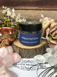Traditional Incense Co - Meditation -  incense powder