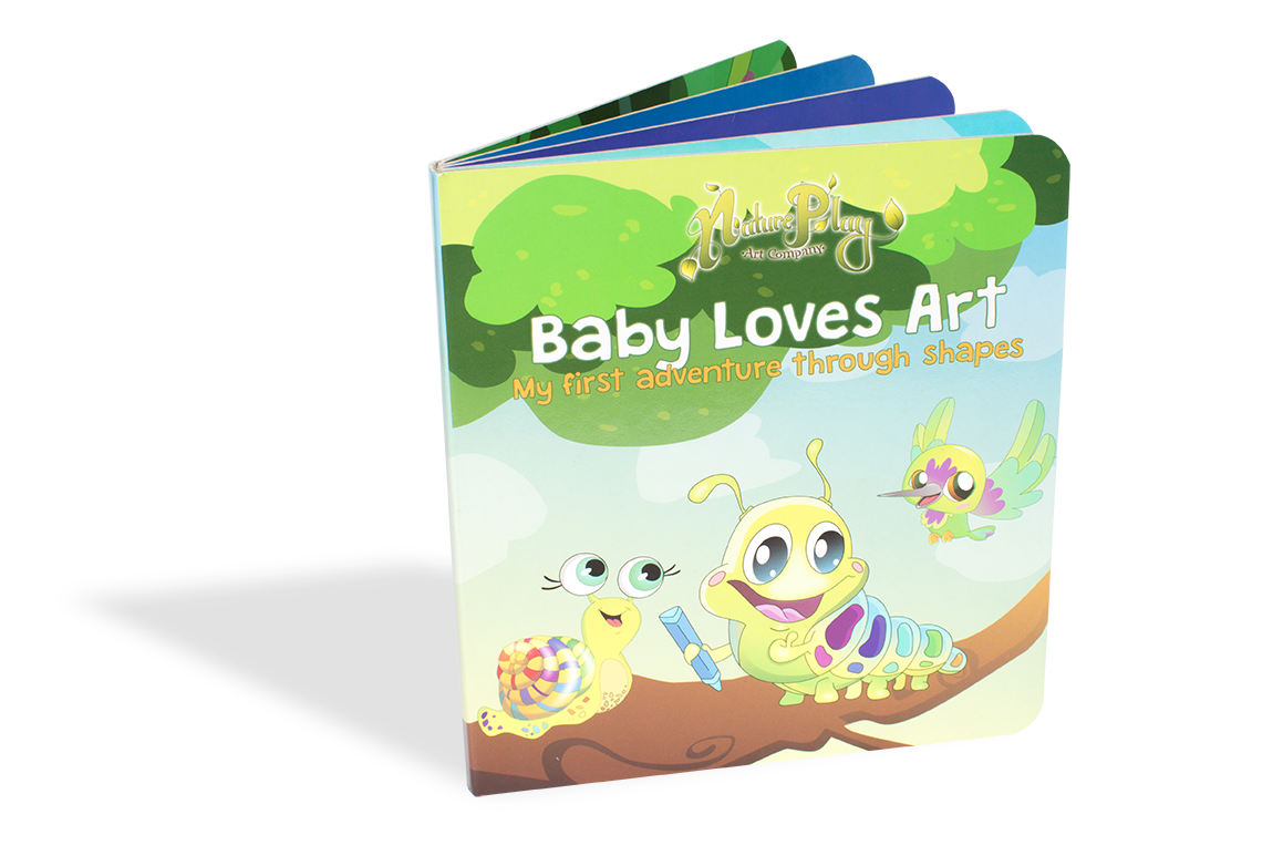 Baby Loves Art - My First Introduction to Shapes Book