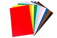 Easy Cut Felt Sheets - 10 Color Sheets
