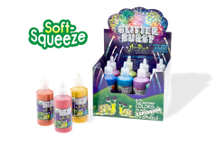 Glitterburst Ultra-Bright Glitter Glue - Set of 12 Electric Colors