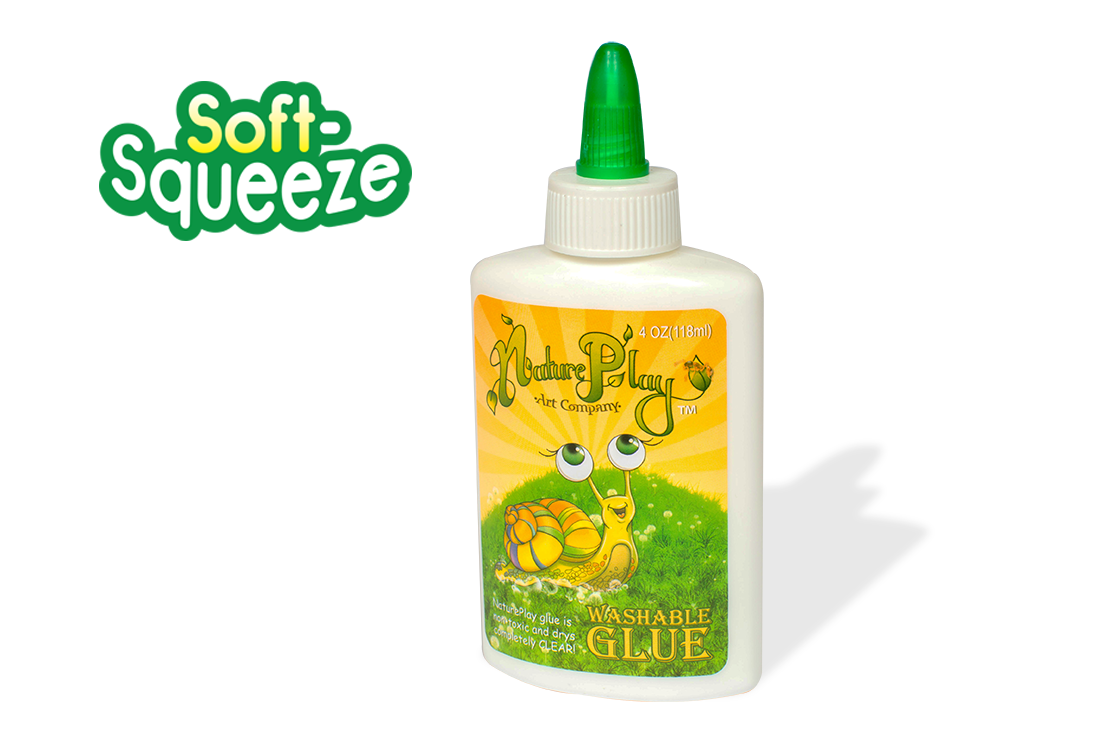 Soft-Squeeze Washable School Glue -Full 4oz