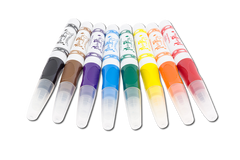 Jumbo Triangular Grip Markers - Set of 8 Colors