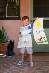 Children's Disposable Aprons - Waterproof, 100 each, Stay Clean!