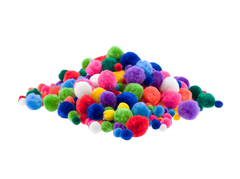 Pom Pom in Reusable Tub 300+ Count!