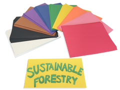 Sustainable Forestry Initiative Certified Construction Paper - 300 Sheet Package