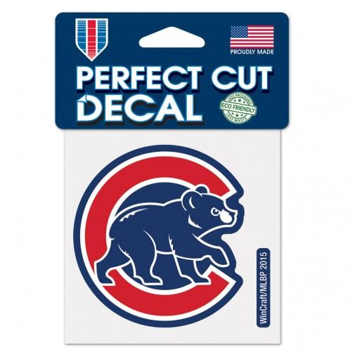 Chicago Cubs Perfect Cut Decal 4
