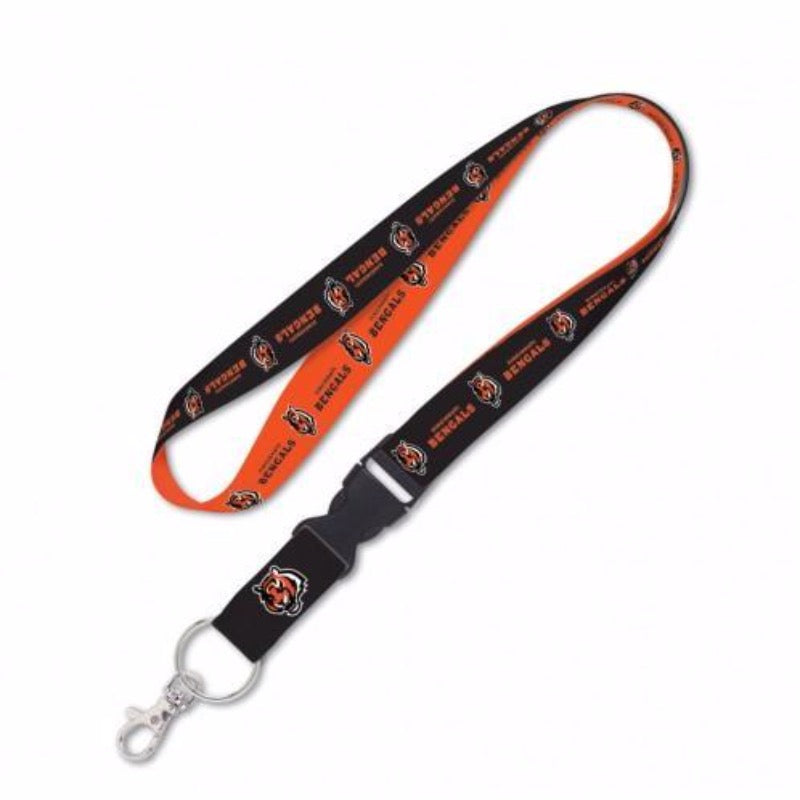 Cincinnati Bengals Lanyard with Detachable Buckle - Fan Cave Sports