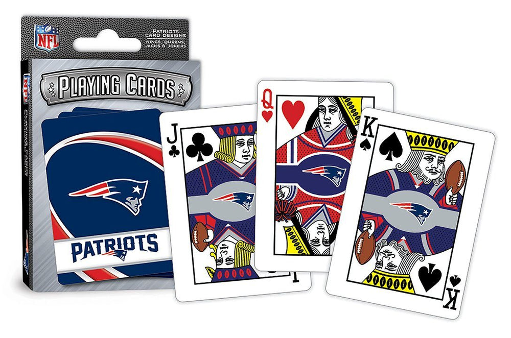 New England Patriots NFL Playing Cards - Fan Cave Sports