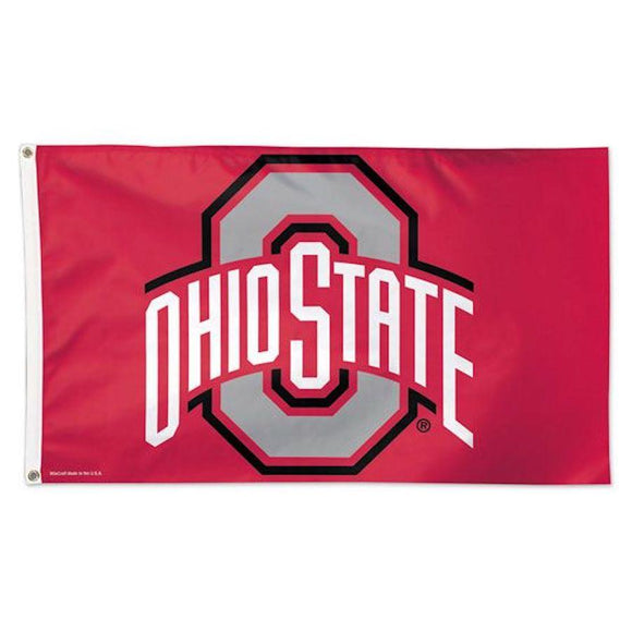 Ohio State Buckeyes 3' X 5' Deluxe Flag Home & Office WinCraft
