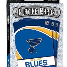 St Louis Blues Playing Cards - Fan Cave Sports