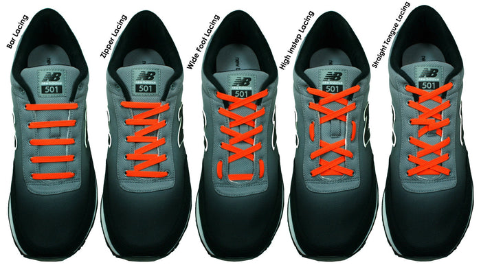 87417f31b Sweet feet - Shoelace patterns with a purpose. Try one with our Xpand® No  Tie Lacing System!