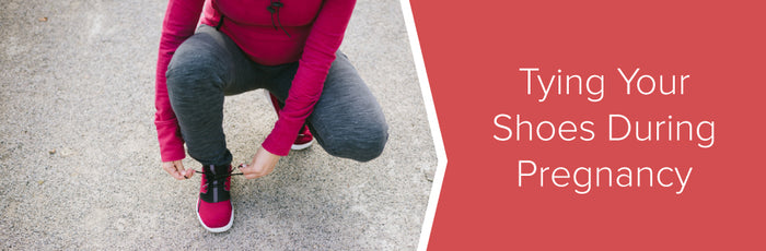 Tying Your Shoes During Pregnancy | No Tie Shoelaces | Xpand
