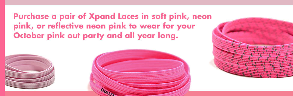 pink Xpand Laces