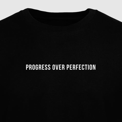 Progress Over Perfection - Motivational Mens T-Shirt [PRE-ORDER MAY 31]