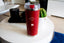 Humble With a Hint of Kanye - 24oz Matte Red Motivational Travel Tumbler + Straw -  Travel Mugs - Coffee & Motivation Company