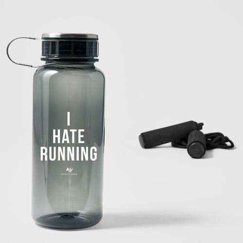 I Hate Running - 33.8 oz Water Bottle