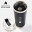 Zero Fucks Given - 24oz Matte Black Motivational Travel Tumbler + Straw