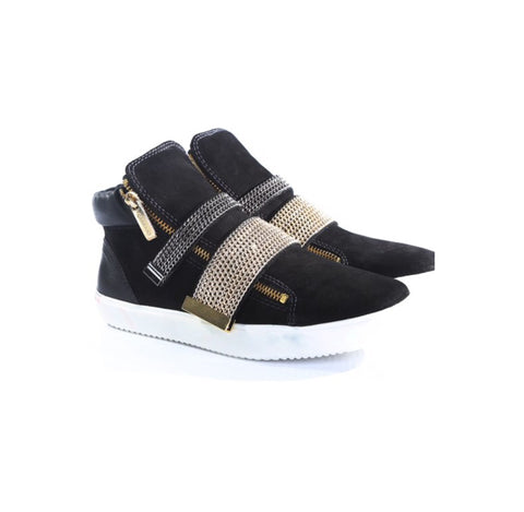 Nubuck Leather Sneaker - The Perfect Pair Boutique