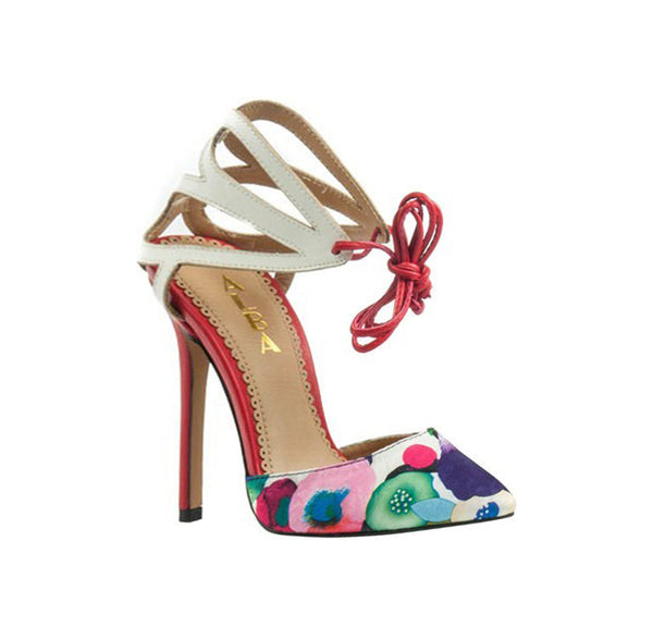 Butterfly Floral Pump - The Perfect Pair Boutique
