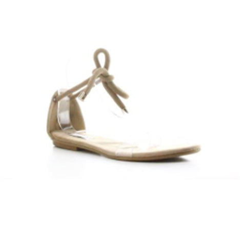 Natural Beauty Clear Wrap Sandal