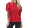 Tulip Tiered Sleeve Blouse