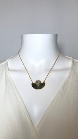Nusu Horn Necklace