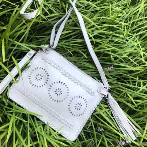 Laced Tassel Purse