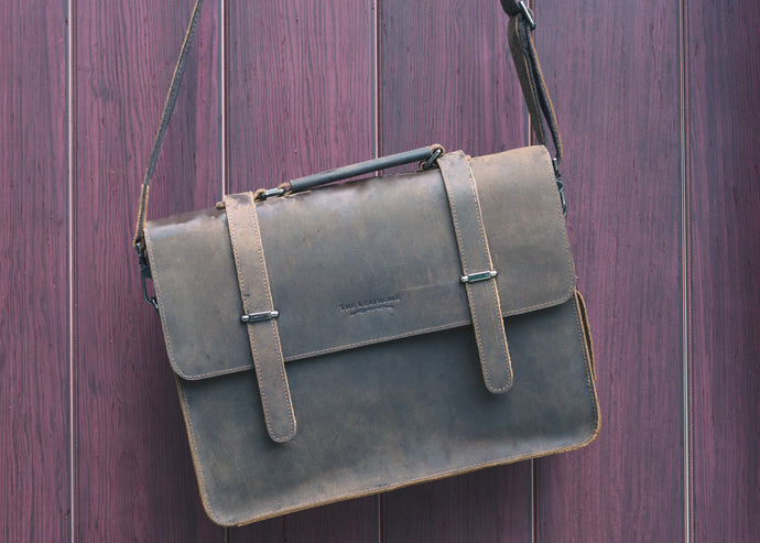 Malbec Messenger Bag -  The Leatherie