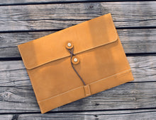 Palomino Leather Envelope Organiser -  The Leatherie