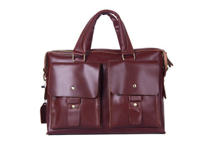 Bordeaux Messenger Bag -  The Leatherie