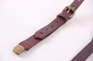 Pinot Leather Suspenders -  The Leatherie