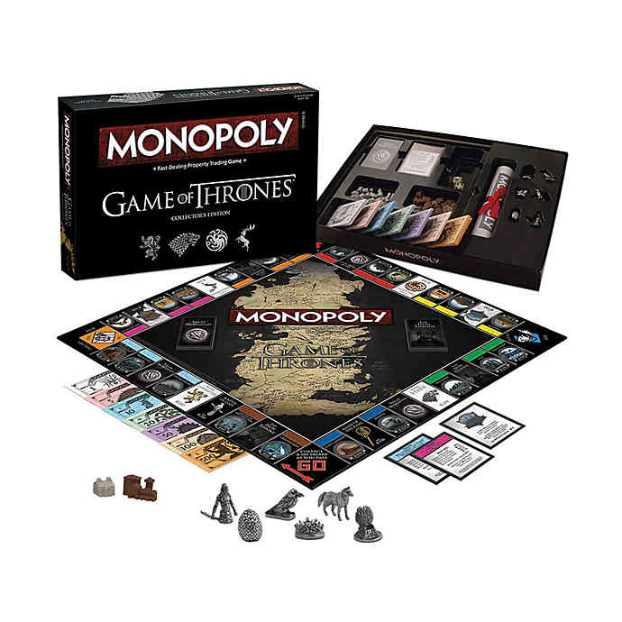Monopoly Game of Thrones Collector's Edition - 1000 Things Australia