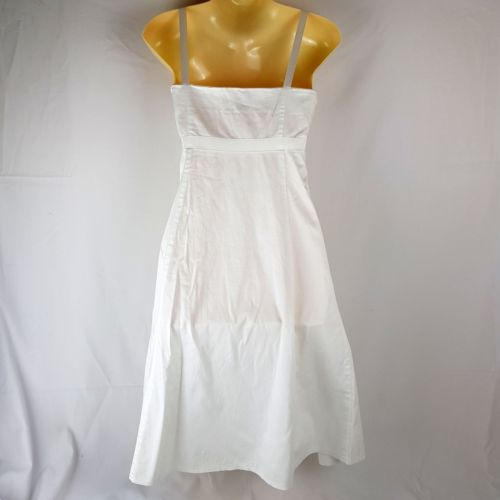 PORTMANS White Spaghetti Strap A-line Dress - 1000 Things Australia