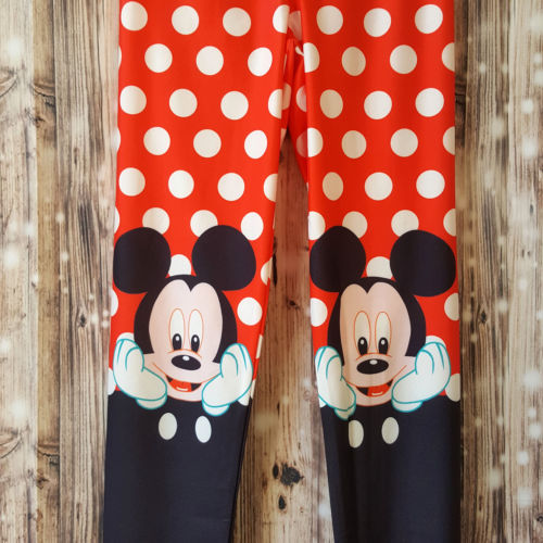 Mickey Mouse Multi-Coloured Leggings - 1000 Things Australia
