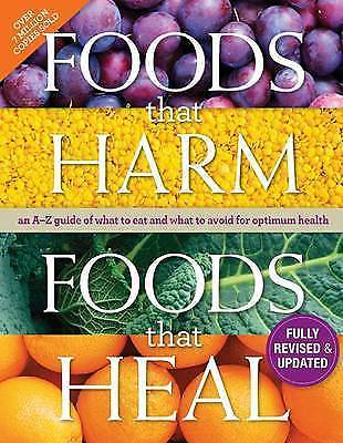 Foods that Harm and Foods that Heal Cookbook Wholefood Cookery English Hardback-Books Textbooks, Education-1000 Things Australia