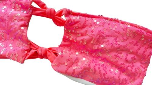 Women's Pink Sparkles Sexy 2 Piece Bikini - 1000 Things Australia